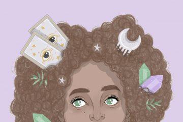"""""""África Ella"""", ilustración de Ester Laguna"""